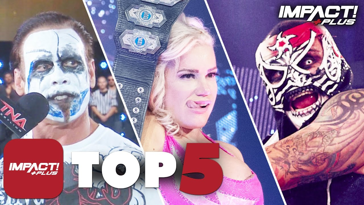 5 GREATEST Slammiversary Moments in IMPACT Wrestling History! | IMPACT Plus Top 5