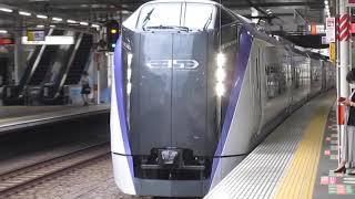 中央線E353系特急あずさ34号新宿行西国分寺駅通過