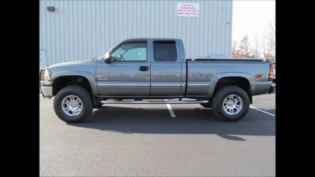 2001 chevrolet silverado 1500 lt lifted truck for sale. Black Bedroom Furniture Sets. Home Design Ideas