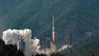 Twin satellites launched to develop China's BeiDou system