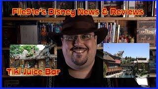File91e's Disney News & Reviews (tiki Juice Bar & Grizzly River Run)