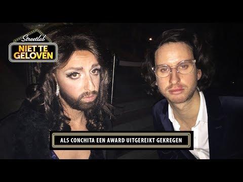 STREETLAB: Als Conchita Wurst een award uitgereikt gekregen!