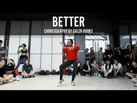 Banks Better Choreography by Galen Hooks