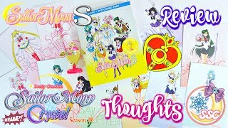 Sailor Moon S Viz Media Part 2 Unboxing w/ Menus (Limited Edition) & Crystal Season 4 Thoughts