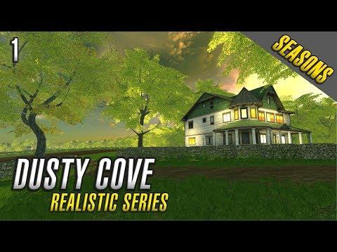 Realistic Farming Simulator 17 | Dusty Cove | Day One