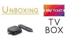 Unboxing: Sky Ticket TV Box 2018
