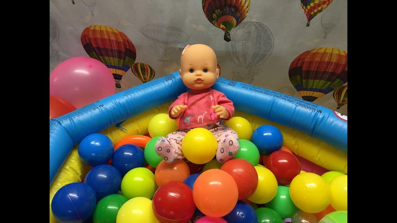 La bebe nenuco en la piscina de bolas sorpresa cap tulo for Piscinas de bolas para bebes