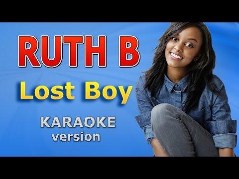 Ruth B - Lost Boy Karaoke Lyrics