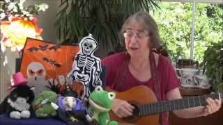 The skeleton stomp - a cumulative rhyming song for Halloween