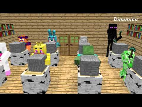FNAF Monster School: Build Battle Sculptors - Minecraft Animation