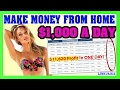 How To Make Money Online Fast - Make Money Online From Home $1,000 Per Day Case 14