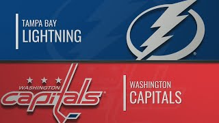тампа-Бэй - Вашингтон Кэпиталз  НХЛ обзор матчей 29.11.2019  Tampa Bay vs Washington Capitals
