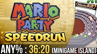 Mario Party Mini-Game Island Any% Speedrun in 36:20