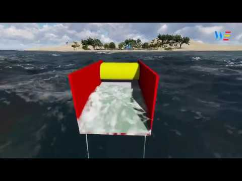 Wavemill - Working of device | wave energy device