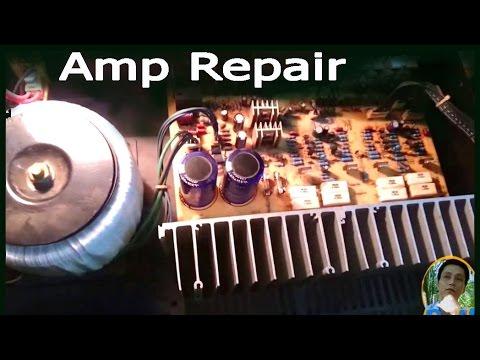 Amplifier Repair Guide
