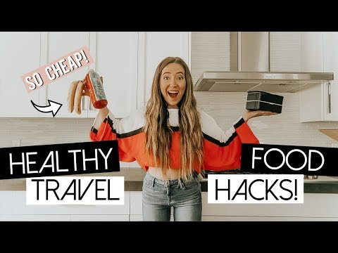 HOW TO MEAL PREP FOR FLYING! ✈ Vegan, Cheap, Healthy!
