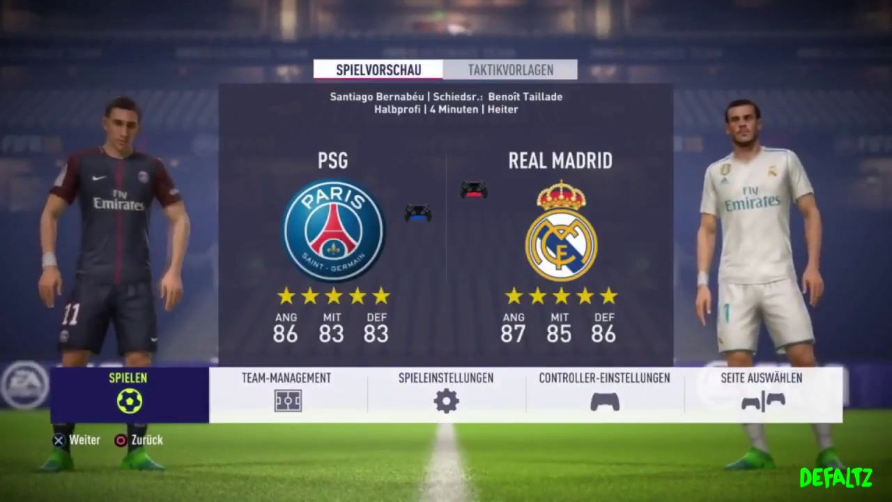 Real Madrid Vs Psg Match Report