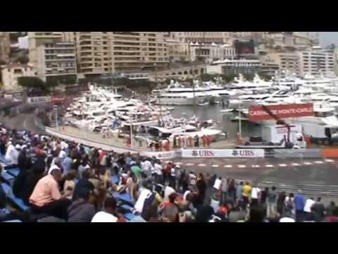 View from K8 Grandstand at 2014 Monaco Formula 1 Grand Prix