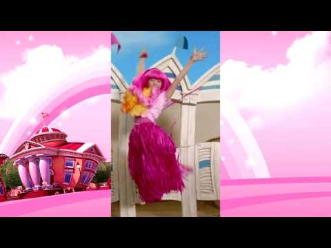 Lazy Town - Stephanie costumes in 3 and 4 seasons