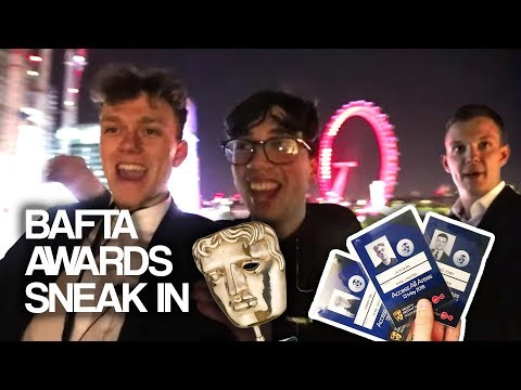 SNEAKING INTO THE 2018 BAFTAS AFTERPARTY (PRETENDING TO BE A CELEBRITY)