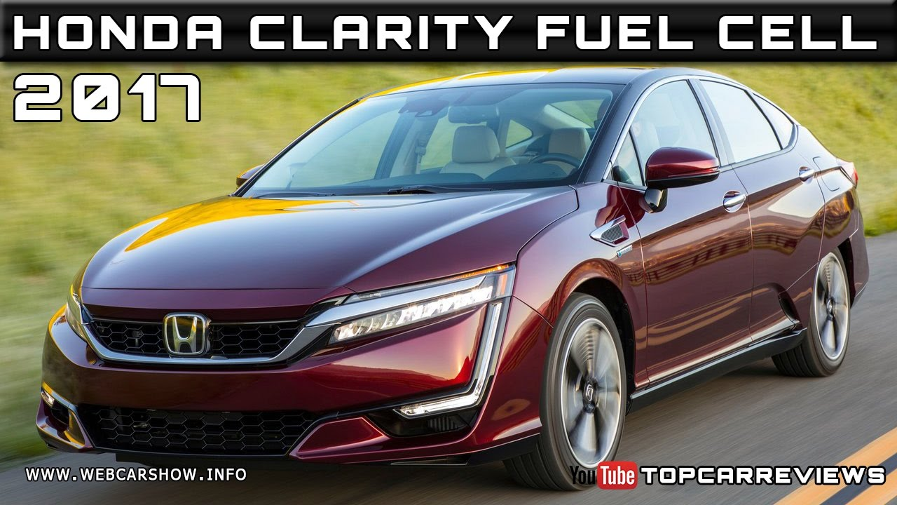 2017 Honda Clarity Fuel Cell Review Rendered Price Specs Release Date