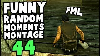 Dead by Daylight funny random moments montage 44