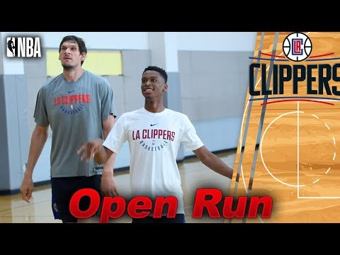 LA Clippers Shai Gilgeous-Alexander , Boban , Carmelo Anthony Open Gym