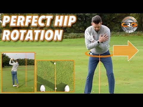 HOW TO GET PERFECT HIP ROTATION