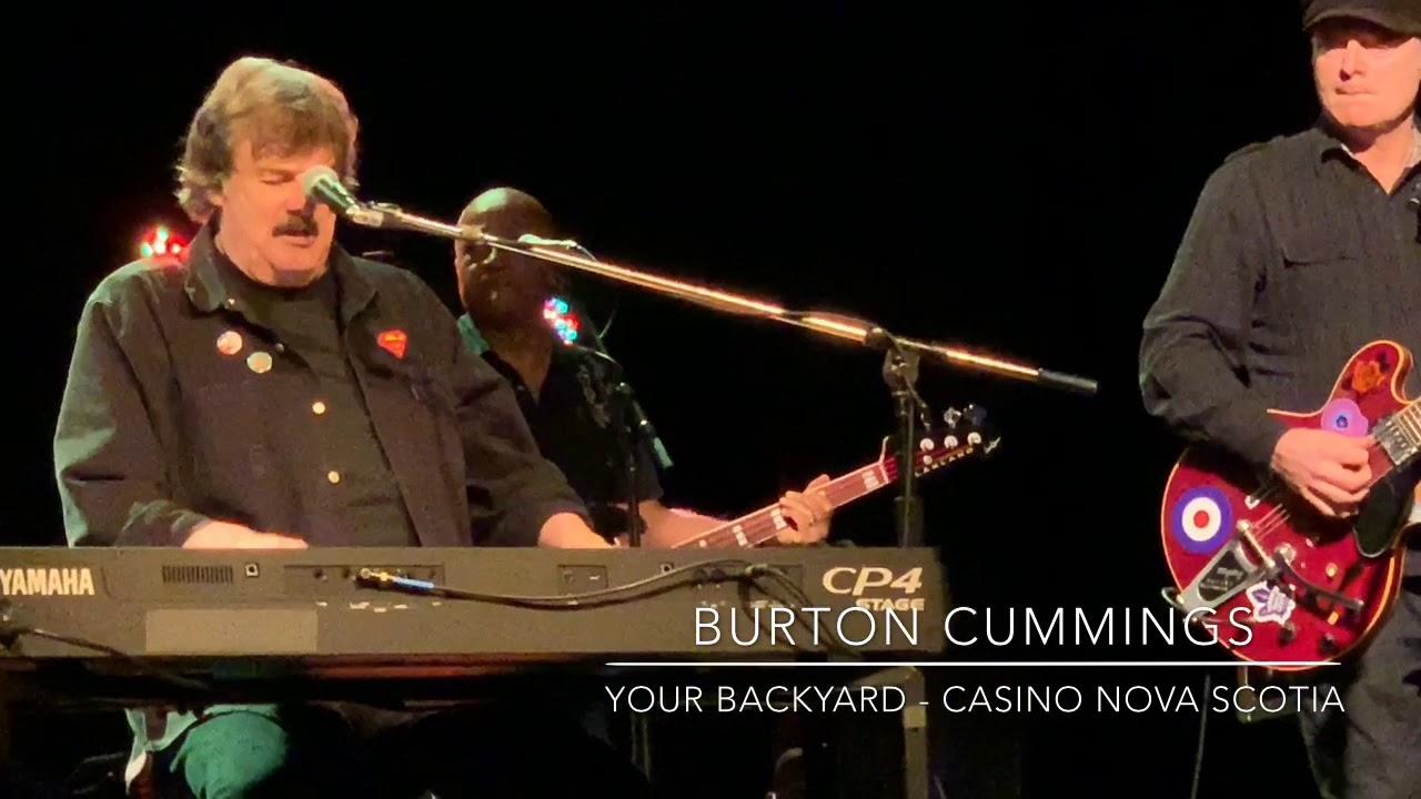 Burton Cummings - Your Backyard - YouTube