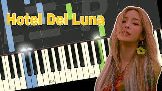 Heize Can You See My Heart Hotel Del Luna Ost Easy Piano Tutorial Free Sheet