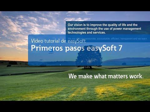 Tutorial easySoft V7 - Primeros pasos