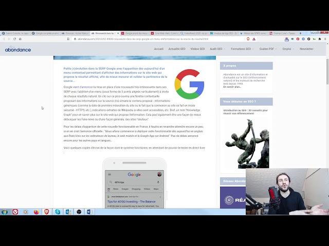 Cannibalisation entre un blog et des landing pages, comment faire ? + Veille SEO 08/02/2021