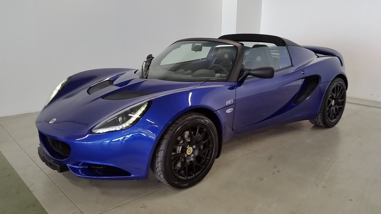 lotus elise s 20th anniversary special edition youtube. Black Bedroom Furniture Sets. Home Design Ideas