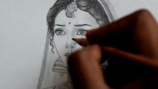 Pencil Sketch-Inspired by Ajabde