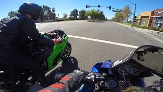 ZX10 with Launch Control / Getting Blazed