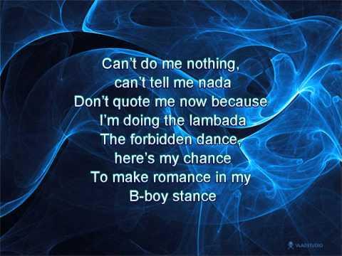 Beastie Boys - Make Some Noise, lyrics on screen