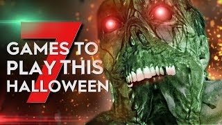 7 Terrifying Horror Games to Play THIS Halloween!