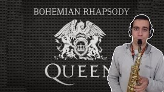 Bohemian Rhapsody - Queen (by SaxPinelin) Sax Cover