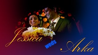Indian Bengali Wedding - USA couple - Jessica Weds Arka - RS photography