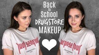 Back To School Drugstore Makeup Tutorial 2017