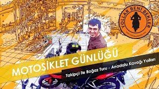 Motosiklet Günlüğü // Takipçi ile Anadolu Kavağı Yolları // KTM Duke 390 - Bajaj Pulsar AS 150