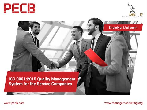 Quality Management System for Service Companies