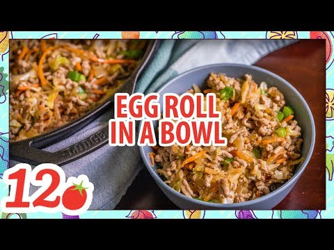 How to Make: Egg roll in a bowl
