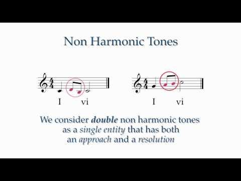 Intermediate Lesson 2: Non Harmonic Tones