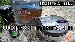 COOKING SET OUTDOOR TRANGIA 25-4 UL | UNBOXING & REVIEW