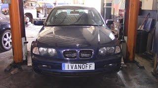 Ремонт автомобиля BMW 320D 1999, замена приводных цепей  ЧАСТЬ ПЕРВАЯ.