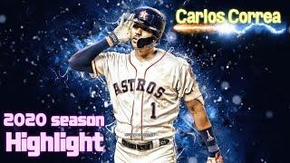 MLB 2020시즌 카를로스 코레아 하이라이트 (fea…