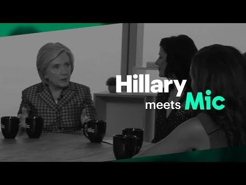 Hillary Meets Mic