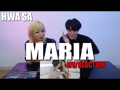 [Ready Reaction]Hwa Sa(화사) _ Maria(마리아)리액션(reaction)ㅣMV REACTION
