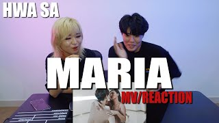 Gambar  Ready Reaction Hwa Sa 화사  _ Maria 마리아 리액션 Reaction ㅣmv Reaction